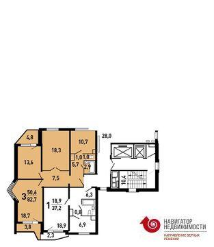 Продажа квартиры, м. Лермонтовский проспект, Ул Лавриненко - Фото 2