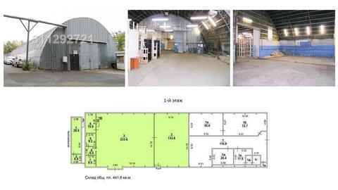 Под склад, отаплив. /сухой, выс. потолка: 5-6 м, офис. + подсобсн. пом - Фото 1