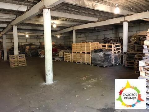 Помещение под склад, холодн, выс. потолка:4 м, огорож. терр, охрана - Фото 3