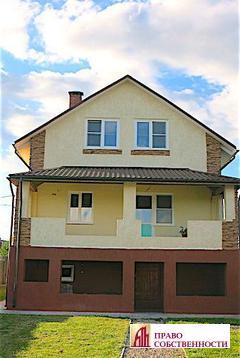 2-х эт.дом с цоколем 140 кв.м на 6 сот. в д.Клишева Раменского р-на - Фото 1