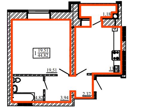 Продажа однокомнатной квартиры в Центре - Фото 1