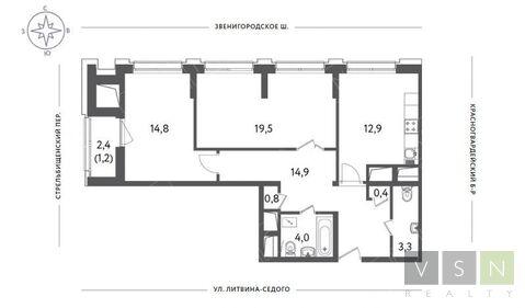 Продается квартира г.Москва, Красногвардейский бульвар, Продажа квартир в Москве, ID объекта - 325950159 - Фото 1