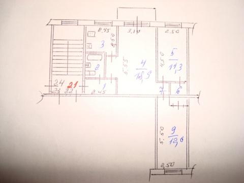 Продам 3-х комнатную квартиру по ул. Лермонтова - Фото 3