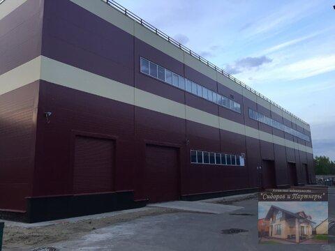 Производственнно-складской комплекс с земельным участком - Фото 1