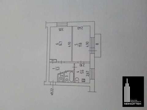 Продаётся двухкомнатная квартира в привокзальном районе - Фото 2