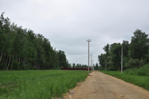 Земельный участок по горьковскому шоссе