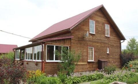 Дом с Гаражом и Баней, Газ, д. Курганиха - Фото 1