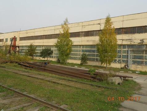 Комплекс 21 000 м2 на 4,3 Га с ж/д, кран-балками и 5 мвт в Домодедово - Фото 1