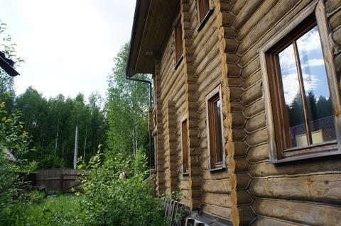 Дом терем их тесаного бревна в Новой Москве. - Фото 4