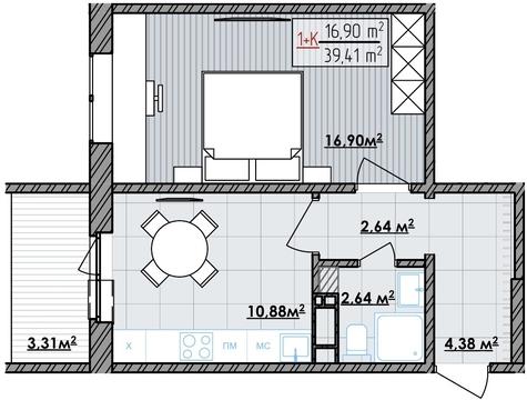 Продажа квартиры, Тюмень, Ул. Интернациональная, Купить квартиру в Тюмени по недорогой цене, ID объекта - 318370184 - Фото 1
