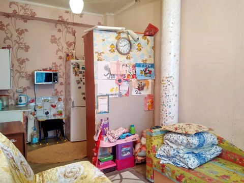 Продам комнату 14.кв.м. г.Ижевск, ул.Орджоникидзе,35. 1/2к - Фото 1