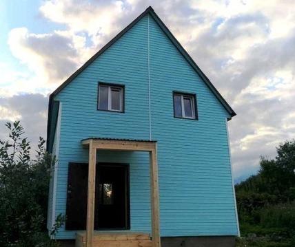 Купить дом из бруса в Ломоносовском районе д. Малое Карлино - Фото 1