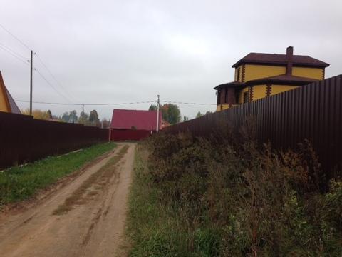 Участок, 12,5 соток, ИЖС, д. Богдановка, Чеховский район - Фото 5