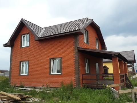 Продается новый дом 160м на 10сот, с. Малышево, Раменский район - Фото 2