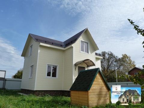 Прдам замечательный новый дом 110 кв.м п.Белоозерский c.Т.Михалево - Фото 1
