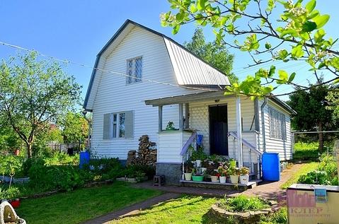 Продается дом 80 кв.м, д.Белозерово, СНТ «Островня» - Фото 1