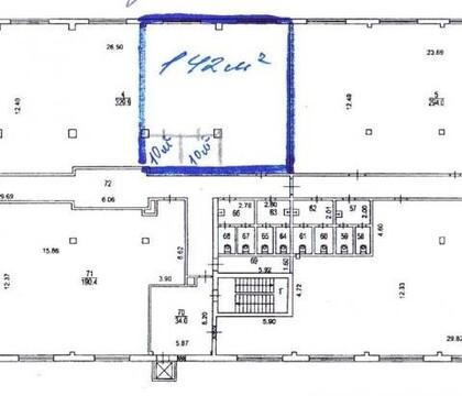 Офис в аренду класса В, 142 кв.м. в ЦАО, м. Площадь Ильича. - Фото 2