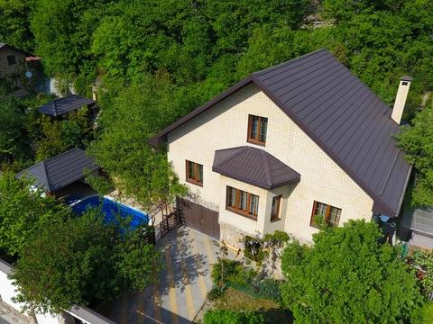 Купить усадьбу с двумя домами в Мысхако Новороссийск - Фото 2