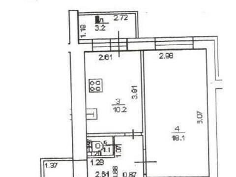 3 200 000 Руб., Продажа однокомнатной квартиры на Софьях Перовской улице, 42 в Уфе, Купить квартиру в Уфе по недорогой цене, ID объекта - 320177819 - Фото 1