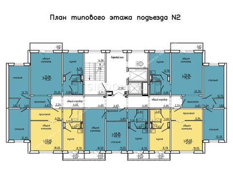 Продам 2х комн 49.72 кв м Покровский д 4 Цена 2585 т р Без комиссий - Фото 3