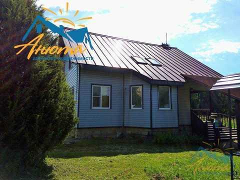 Большой дом в деревне Ореховка Калужской области около пруда - Фото 1