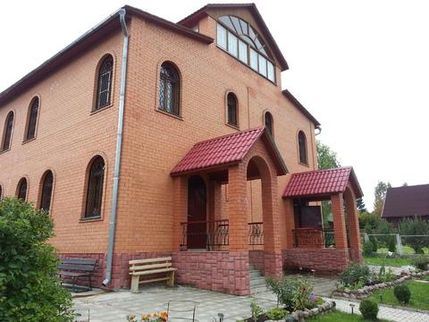 Продается большой благоустроенный дом на красивом ухоженном уч-ке - Фото 3