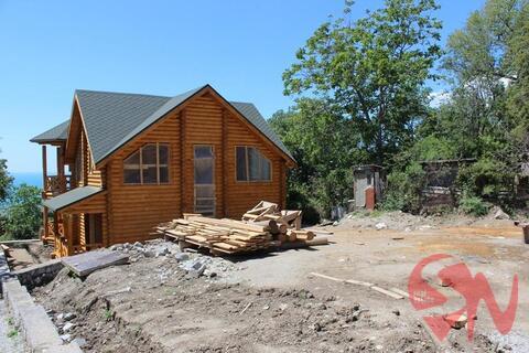 Предлагаю купить качественный дом-сруб в Алупке с потрясающим видо - Фото 3