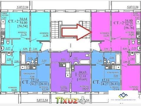 Продам 3-комн квартиру Архитектора Александрова д4 1эт, 57кв.м. - Фото 3
