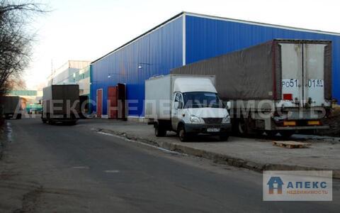 Аренда помещения пл. 1385 м2 под склад, производство, м. Печатники в . - Фото 2