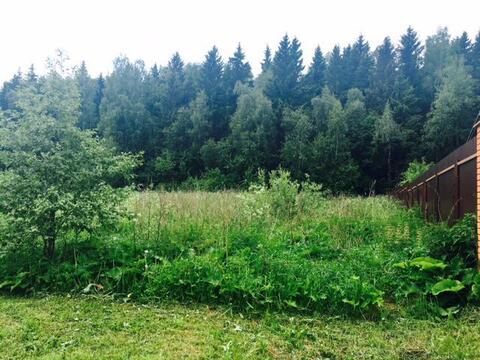 Участок у леса. 15 соток. Минско ш. 16 км. Ямищево