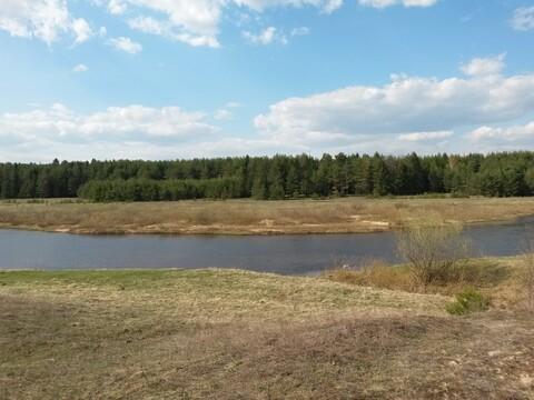Земельный участок у воды 26 соток рядом с д. Быково Кимрского р-на - Фото 4