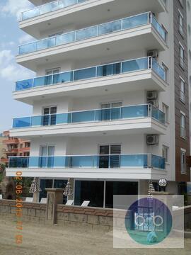 Вторичка 1+1 в 300м от моря в современном ЖК, Купить квартиру Аланья, Турция по недорогой цене, ID объекта - 313477743 - Фото 1