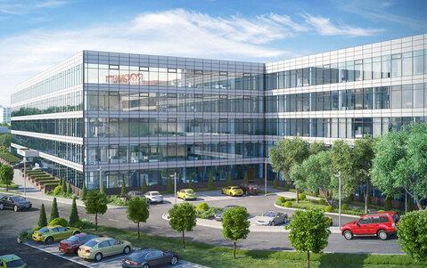Аренда офиса 60.8 кв.м в БЦ класса B+ с отделкой. 150 м от м. Автоз. - Фото 5