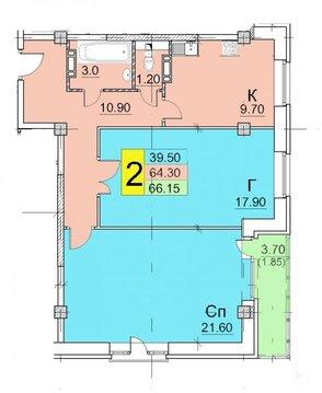 Нежилое помещение 1 этаж 68 м2 Щелково, Радиоцентра-5, д 17 - Фото 1