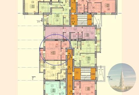 741_2. Калязин. 1-комнатная квартира-студия 32,2 кв.м. в ЖК Бриз. - Фото 1