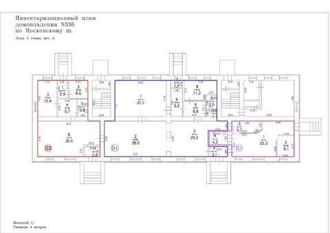Продам торговое помещение 68,4 м2, 1-я линия, два отдельных входа - Фото 3