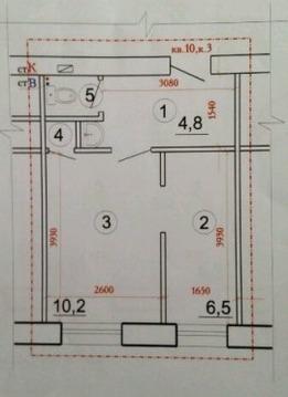 Продам 2-х комнатную кгт ул. Новолучанская д. 26 - Фото 1