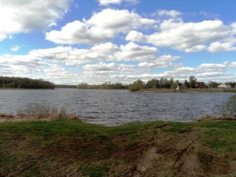 Участок 24 сотки на берегу озера, д. Константиново, 102 км от МКАД. - Фото 5