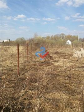 Участок в Калининском районе, д. Базилевка, Сад №33 СНТ Ромашка - Фото 1