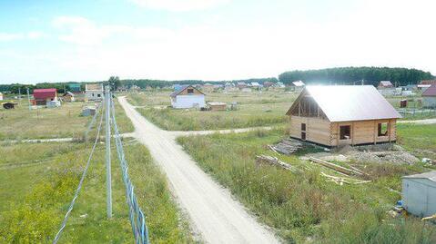 Участок в коттеджном поселке со всеми коммуникациями - Фото 1