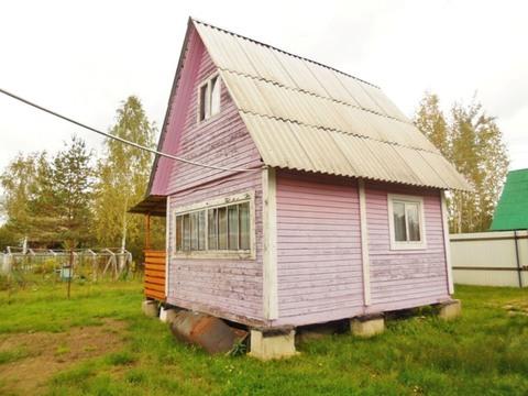 Каркасно-щитовая дача 45 кв.м. Летняя кухня. Земельный участок 6 соток - Фото 2