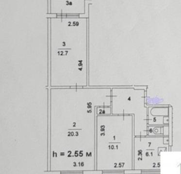 Продается 3-х ком. квартира Москва, Красного Маяка дом 19 корп 1 - Фото 4