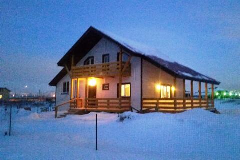 Дом 125 кв м из клееного деревянного монолита по технологии мдд, - Фото 1