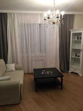 Сдается 1 комн. квартира-студия с подземной парковкой в престижном р-н - Фото 2