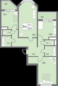 Продаю трёхкомнатную квартиру в микрорайоне Правобережье. - Фото 5