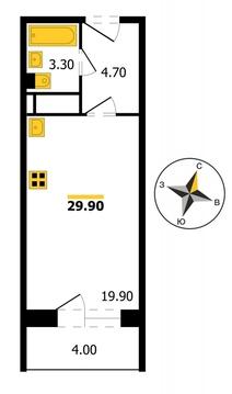 ЖК «Северный-3» , Владимир, Фейгина ул, д.1 по гп, Квартира на . - Фото 1