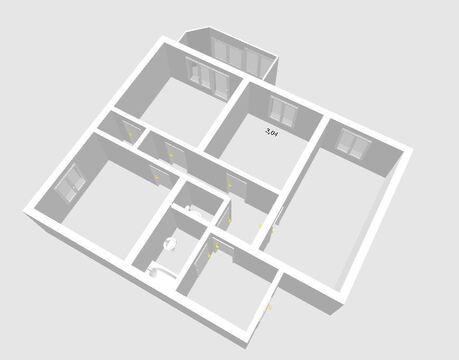 3-к квартира, ул. Монтажников,12 - Фото 1