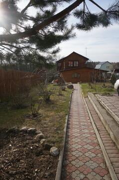 ИЖС с.Вороново. Продается добротный, двухэтажный, деревянный дом - Фото 1