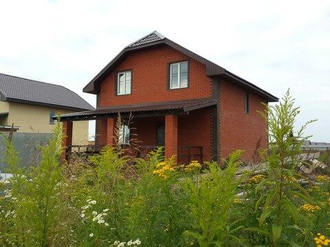 Продается новый дом 160м2 на участке 10сот, кп Кузнецовское Подворье - Фото 1