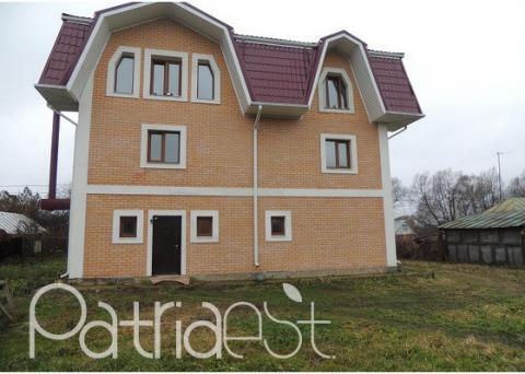 Трехэтажный кирпичный дом 292 кв.м Белые Столбы - Фото 1